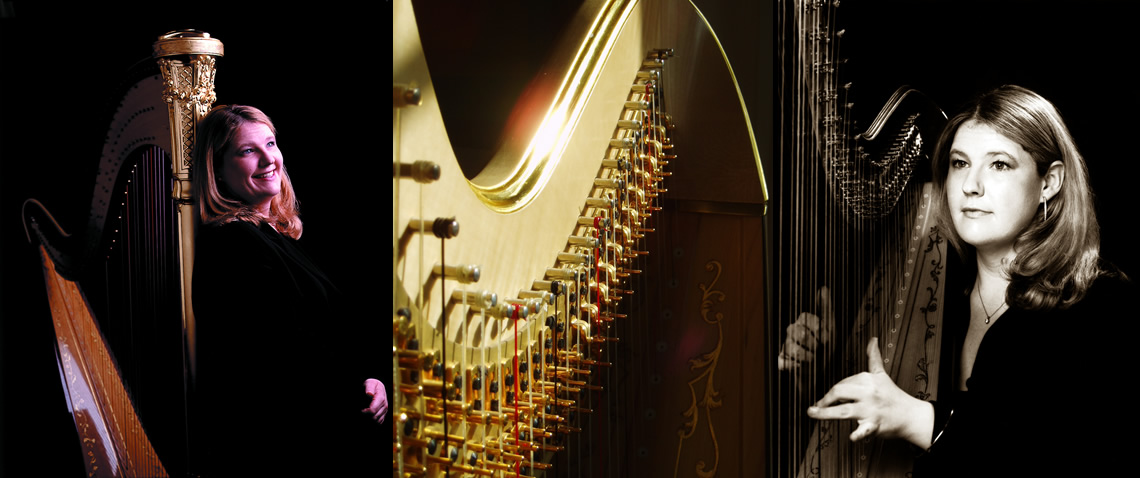 Harpist Rebeca Jones